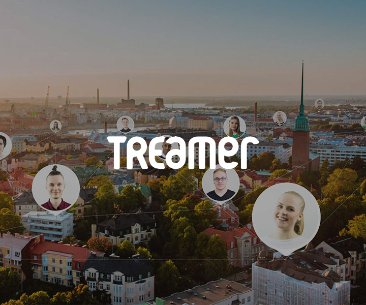 Poster of Treamer app representing for Treamer case